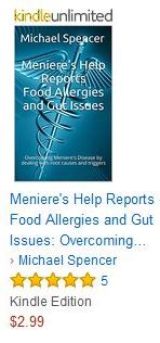 Meniere's disease, food allergies and the gut